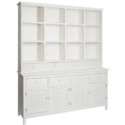 J-Line Buffetkast 'Desideer' 177cm , kleur wit