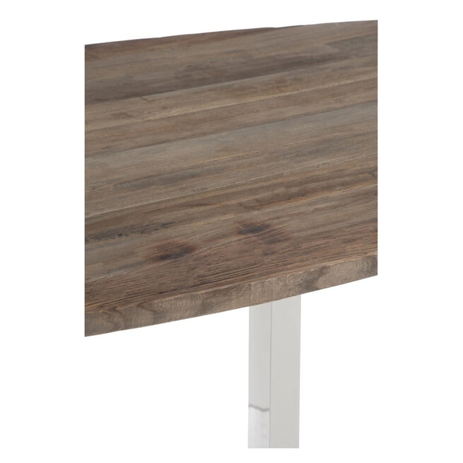 J-Line Eettafel 'Valery' Ovaal, 200 x 100cm