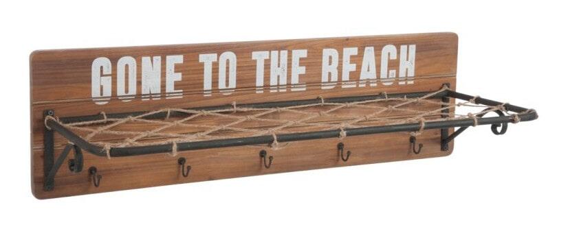 J-Line Kapstok 'Beach' 86cm Woonaccessoires | Kapstokken vergelijken doe je het voordeligst hier bij Meubelpartner