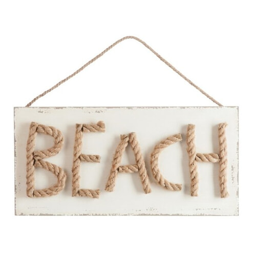 J-Line Muurbord 'Beach'