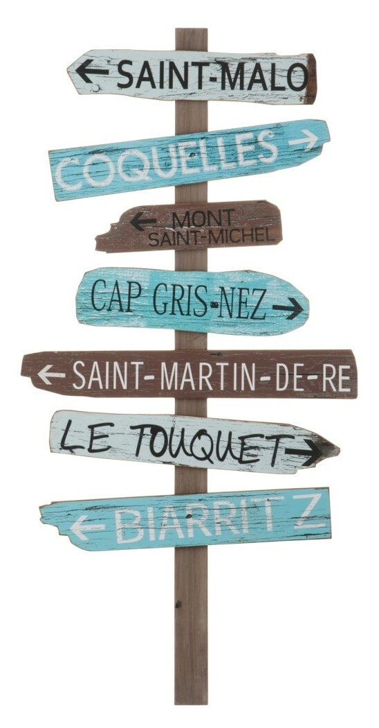 J-Line Muurbord 'Biarritz' Woonaccessoires | Decoratie vergelijken doe je het voordeligst hier bij Meubelpartner