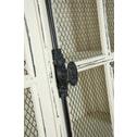 J-Line Vitrinekast 'Andrée' 110cm, kleur creme