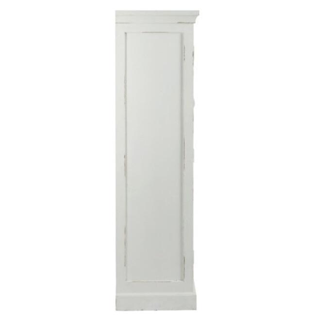 J-Line Vitrinekast 'Françinne' 145cm, kleur wit