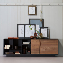 WOOOD Dressoir 'James' 187cm