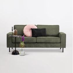 Sohome 3-zits Bank 'Maya' Kleur Groen