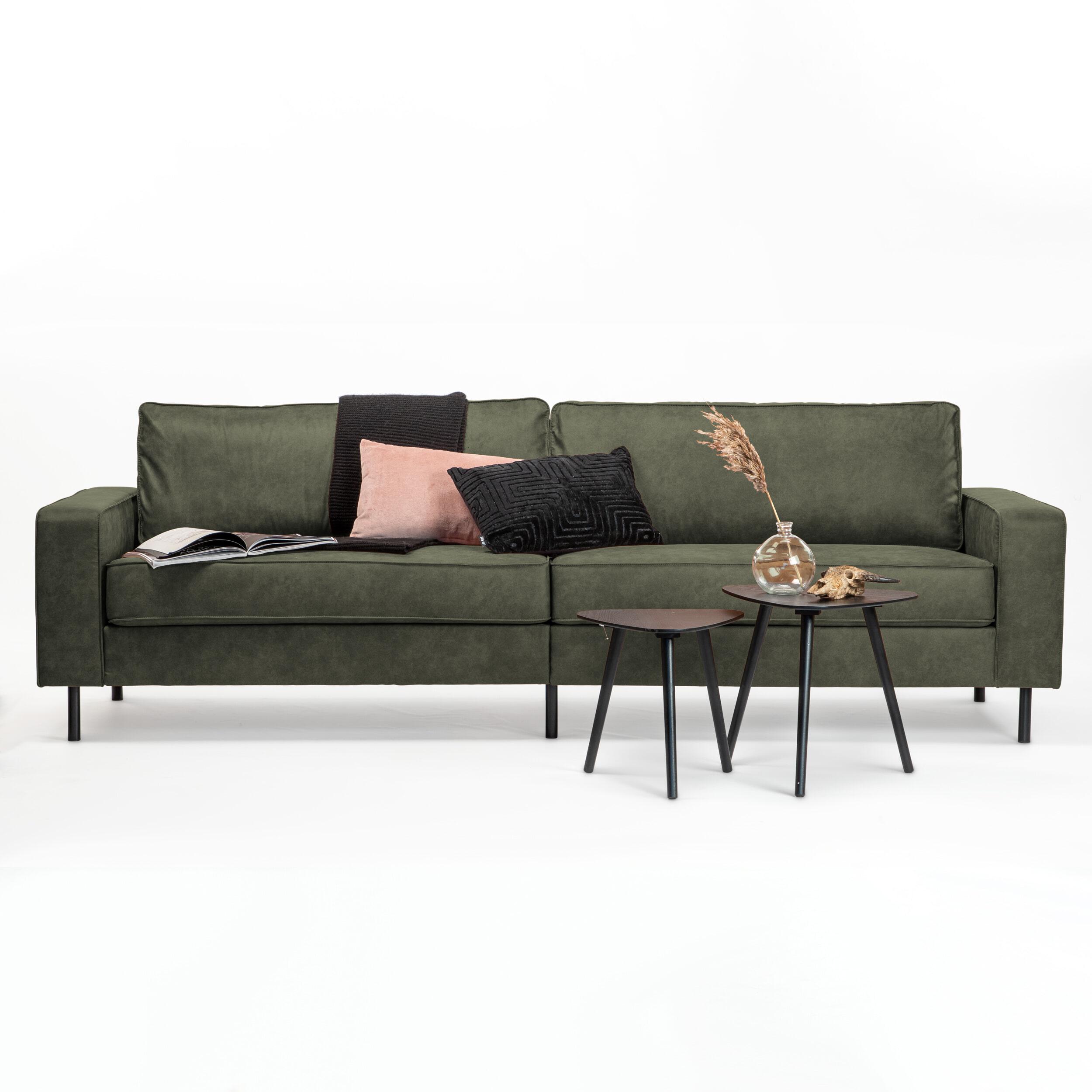 Sohome 3,5-zits Bank 'Maya' Kleur Groen