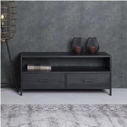 LivingFurn TV-meubel 'Kala' 110cm, kleur zwart