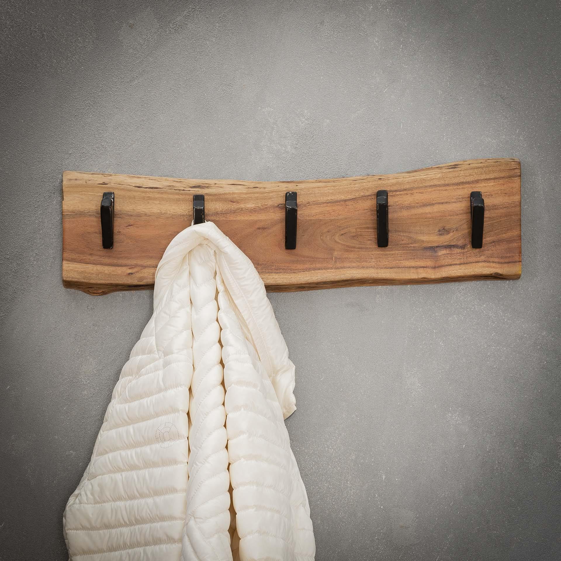 Kapstok 'Warren' 60cm, met 5 haken