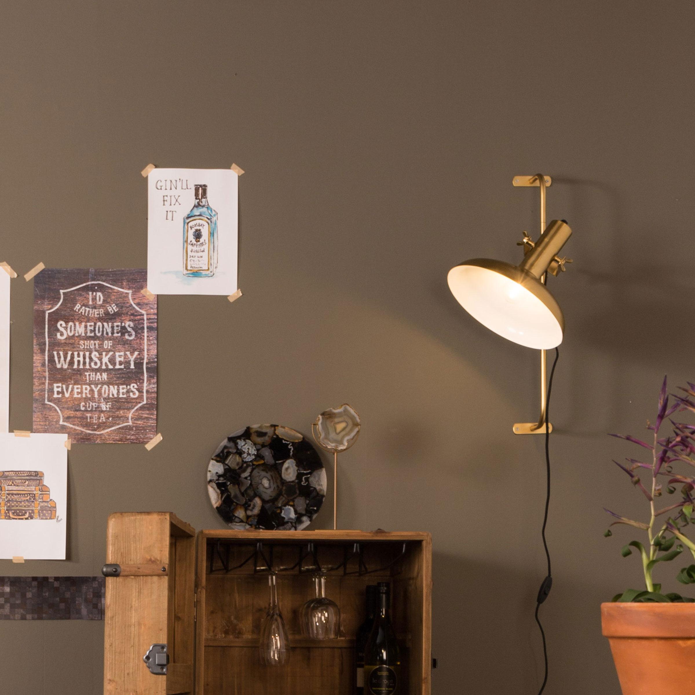Dutchbone Wandlamp 'Karish' 61cm