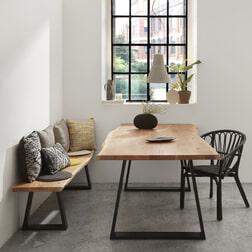 Kave Home Eettafel 'Alaia' Acacia Boomstam