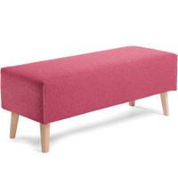 Kave Home Bankje 'Dyla' kleur roze