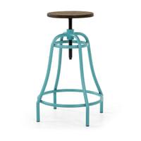 Kave Home Barstoel 'Malira' kleur turquoise