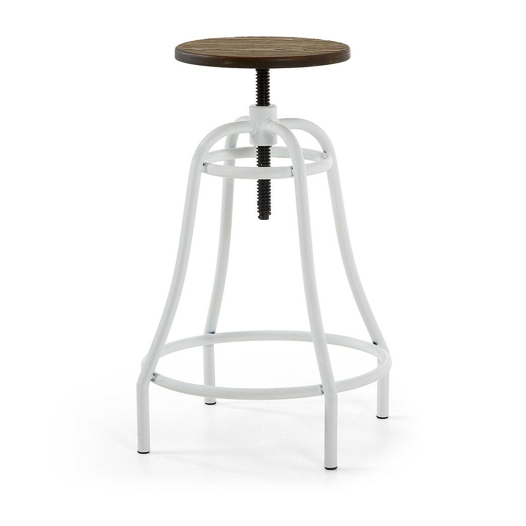 Kave Home Barstoel 'Malira' kleur wit