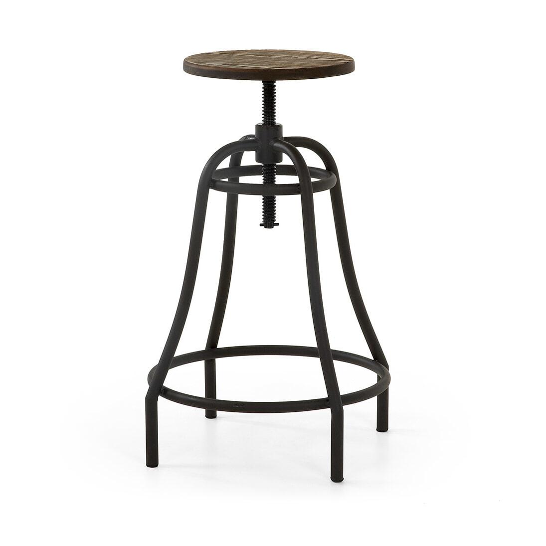Kave Home Barstoel 'Malira' kleur zwart