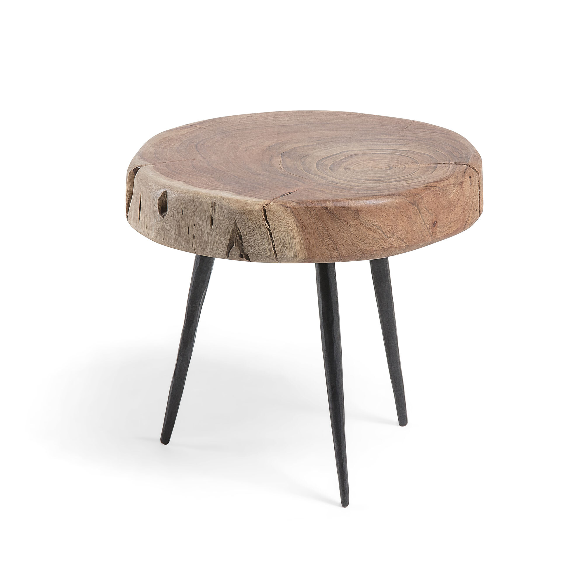 Uw partner in meubels: Kave Home Bijzettafel 'Eider' 30cm hoog Tafels | Bijzettafels