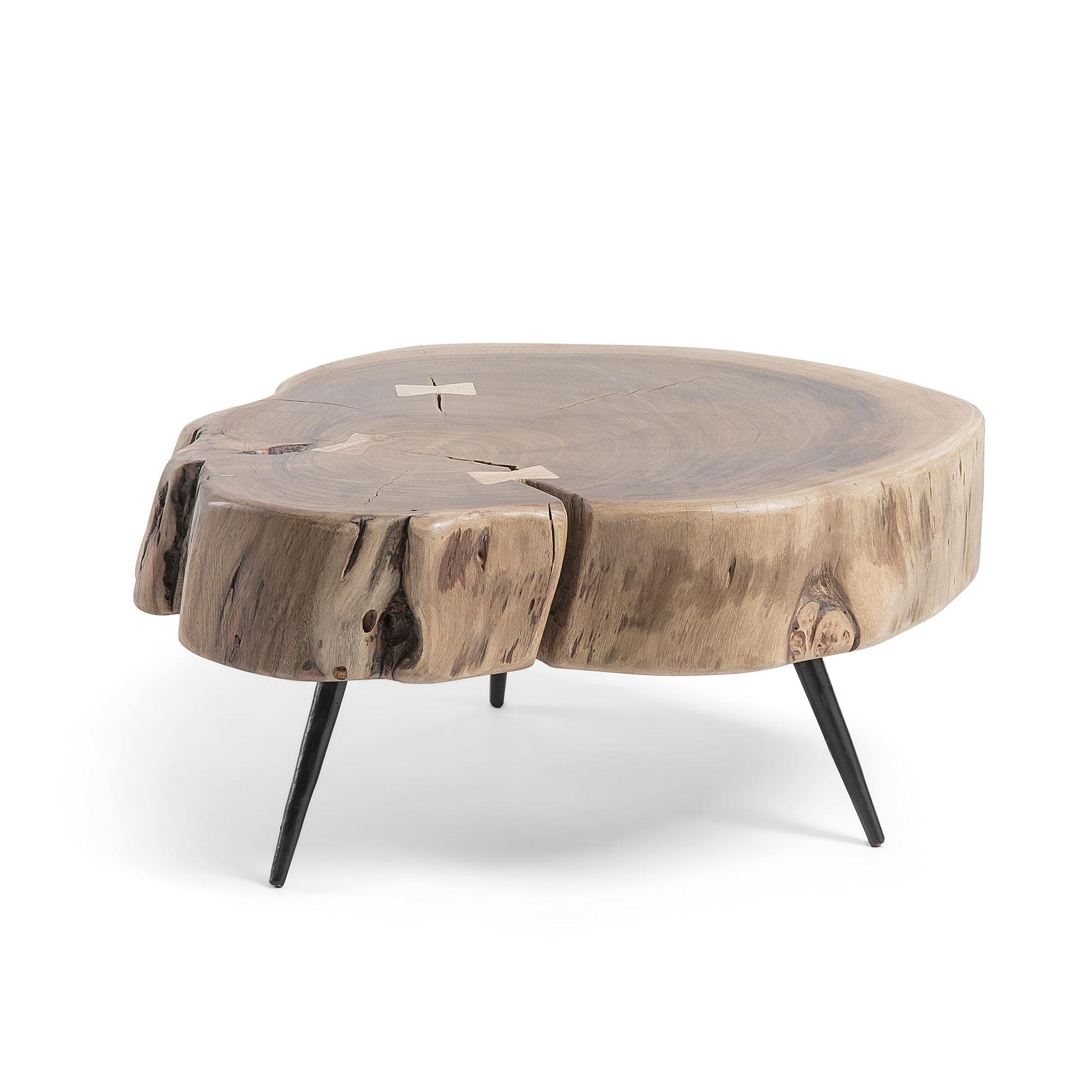 Uw partner in meubels: Kave Home Bijzettafel 'Eider' 49 x 47cm Tafels | Bijzettafels