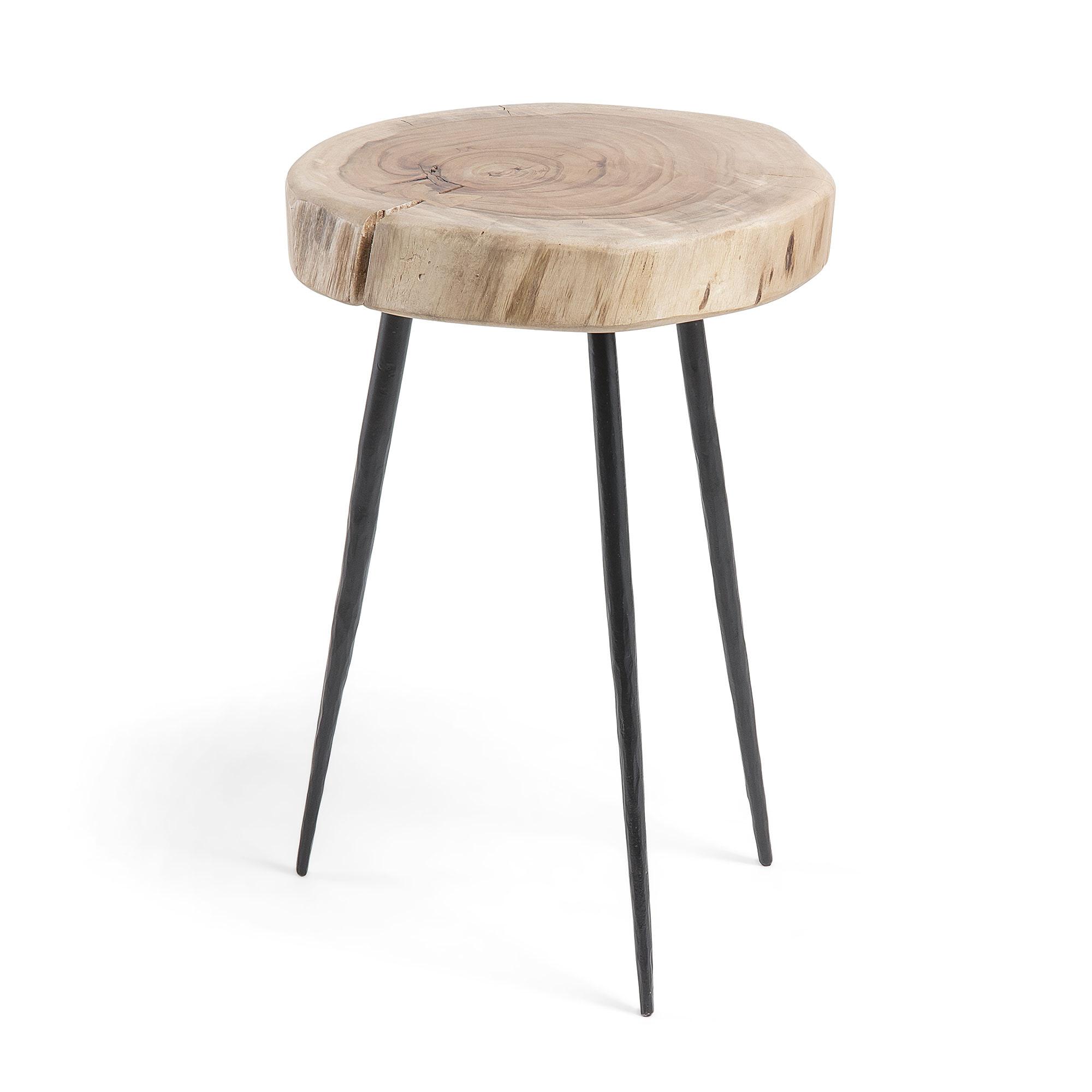 Uw partner in meubels: Kave Home Bijzettafel 'Eider' 54cm hoog Tafels | Bijzettafels