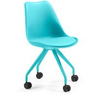 Kave Home Bureaustoel 'Ralf' kleur blauw