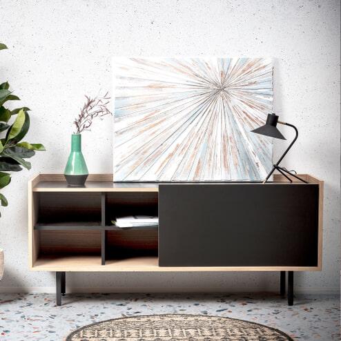 Kave Home Schilderij 'Diandra' 70 x 90cm