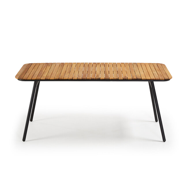 Kave Home Eettafel 'Slim' 180 x 90cm