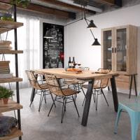 Kave Home Eettafel 'Thinh' 200 x 95cm