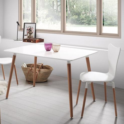 Kave Home Eettafel 'Wad' 140 x 80