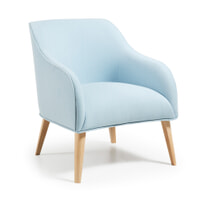 Kave Home Fauteuil 'Bobly' kleur blauw