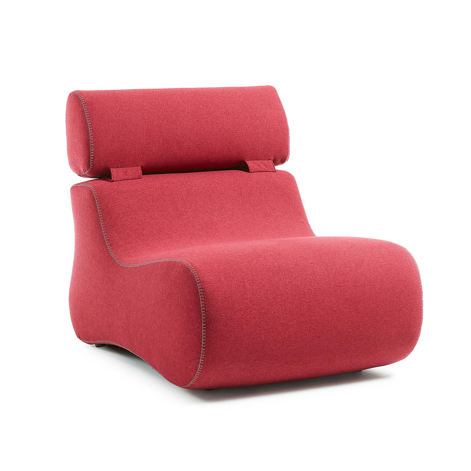 Kave Home Fauteuil 'Club' kleur rood