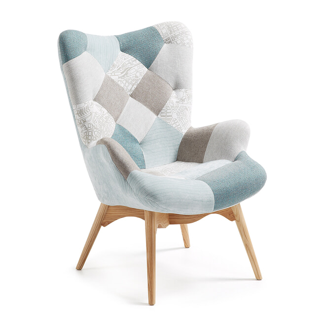 Kave Home Fauteuil 'Kody'