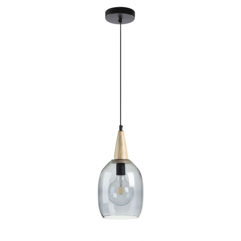Kave Home Glazen Hanglamp 'Yeva'