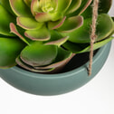 Kave Home Hangende Bloempot 'Abi' kleur groen