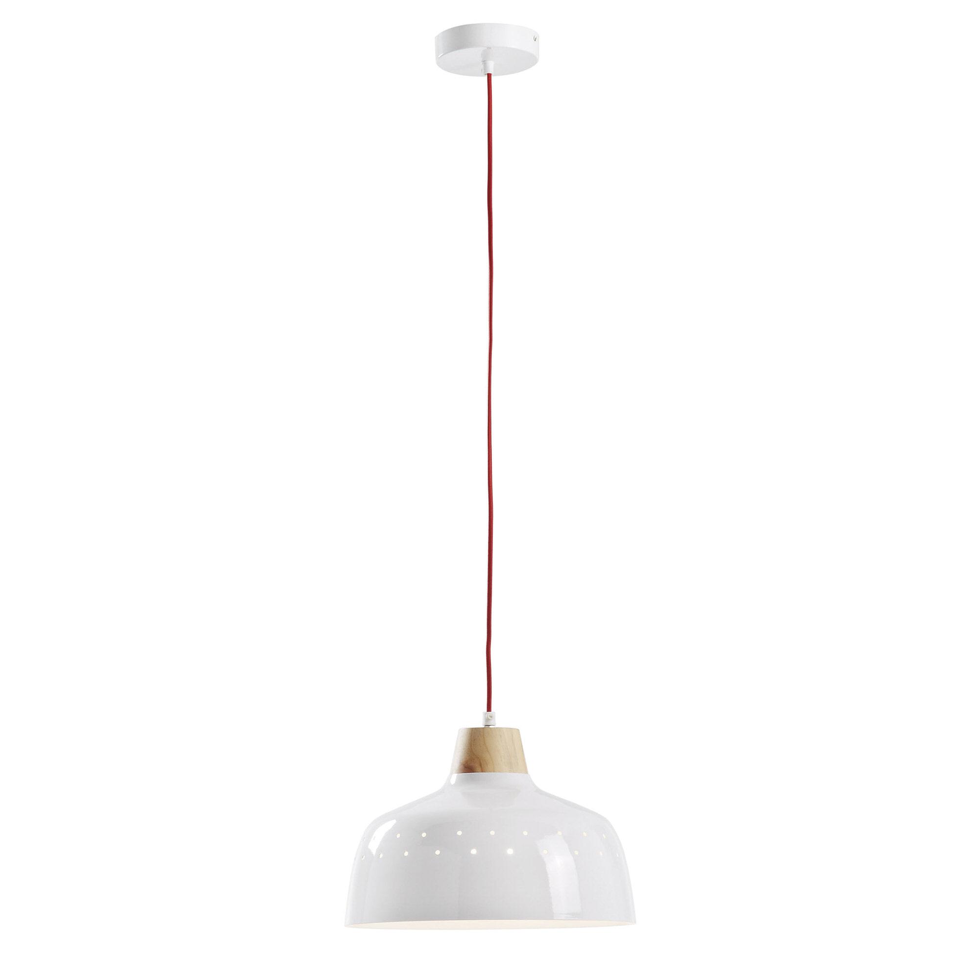 Kave Home Hanglamp 'Bits', kleur wit