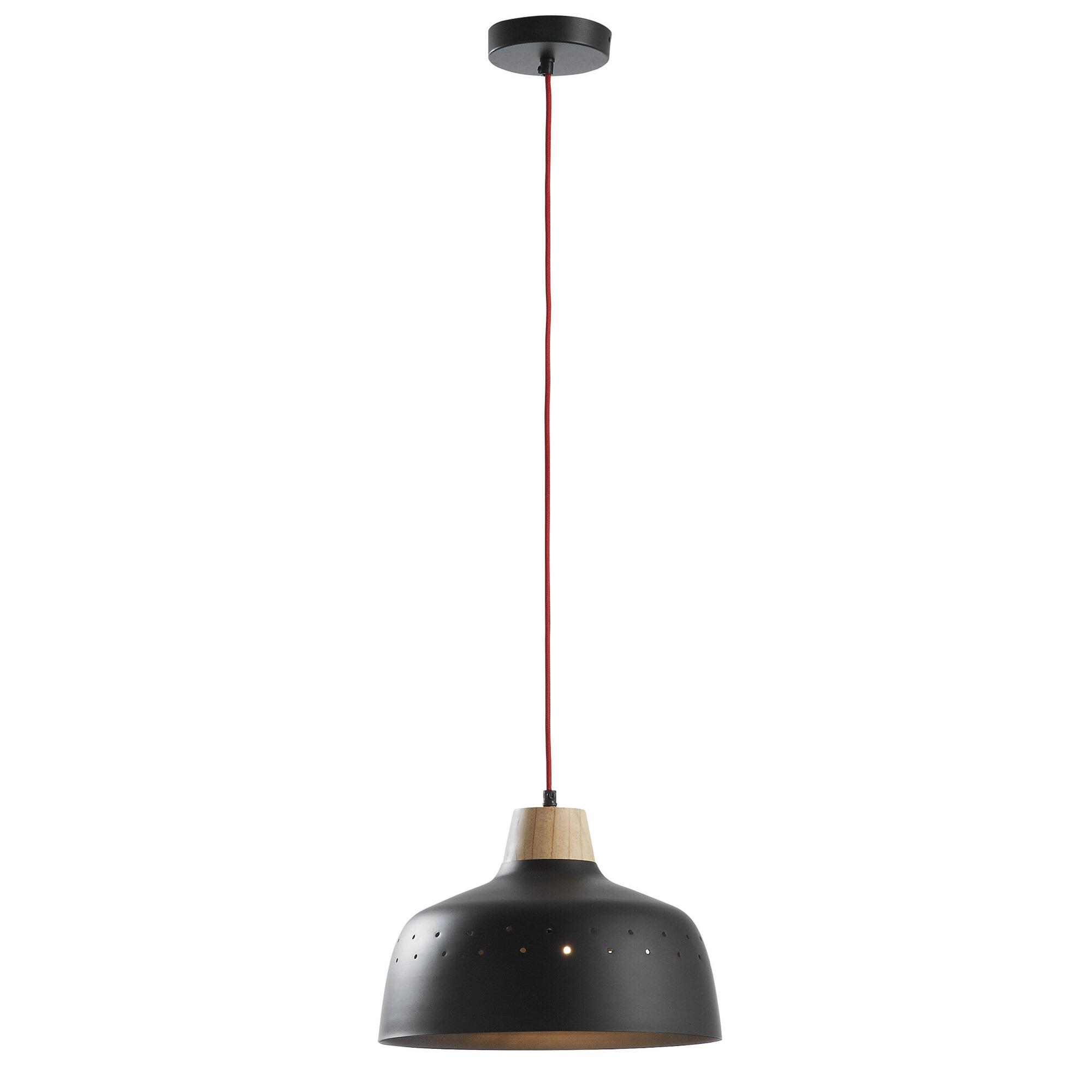 Kave Home Hanglamp 'Bits', kleur zwart