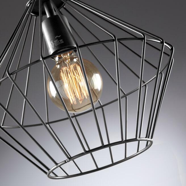 Kave Home Hanglamp 'Cabana', kleur zwart