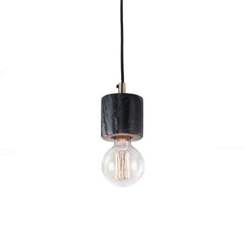 Kave Home Hanglamp 'Campus' kleur zwart