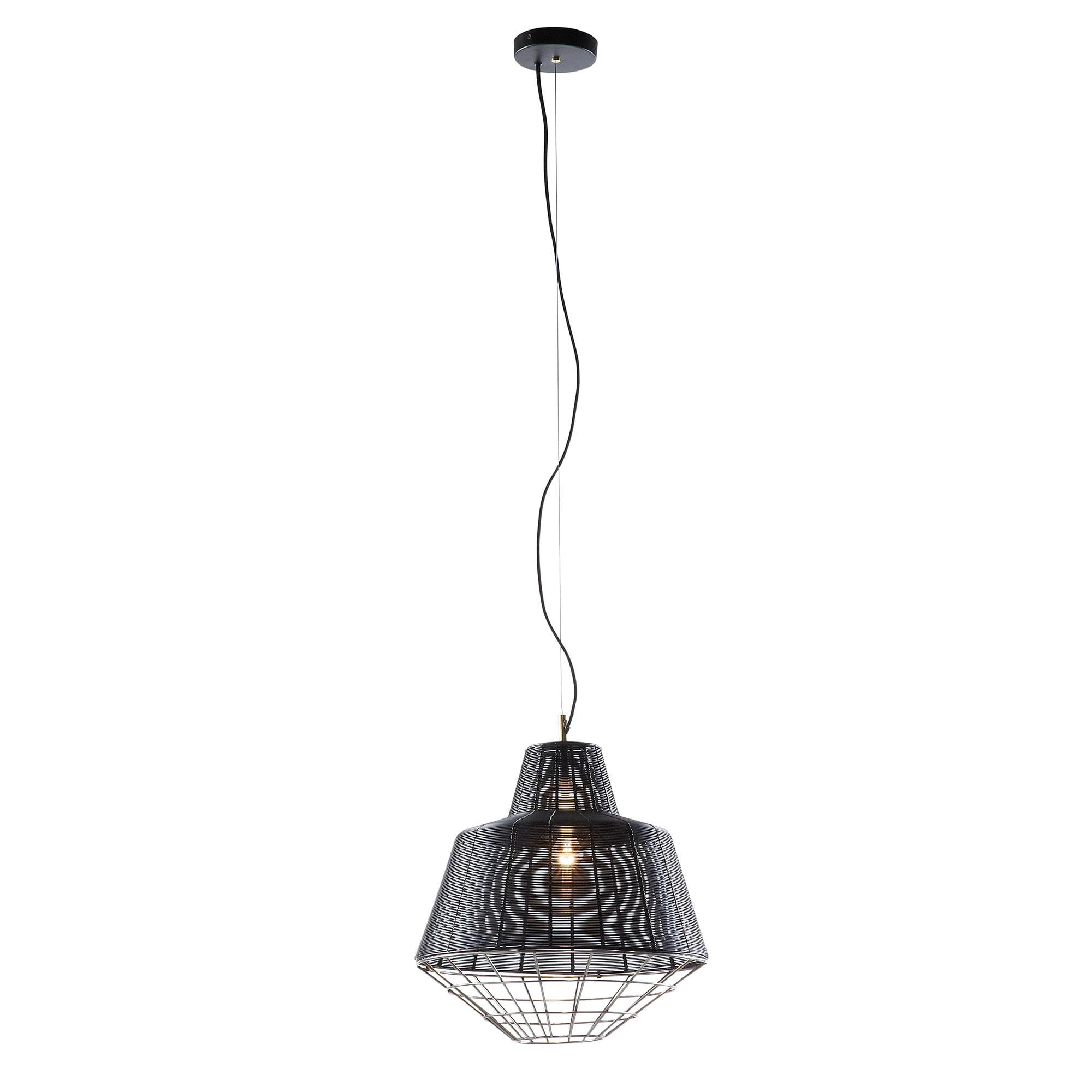 Kave Home Hanglamp 'Dalton', kleur zwart Verlichting   Hanglampen vergelijken doe je het voordeligst hier bij Meubelpartner