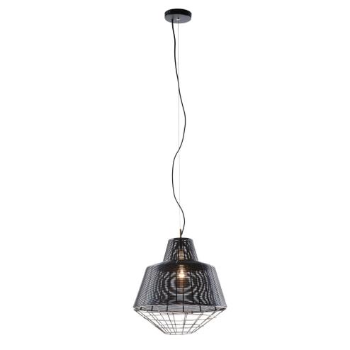 Kave Home Hanglamp 'Dalton', kleur zwart