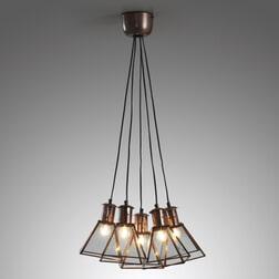 Kave Home hanglamp 'Dial', kleur koper