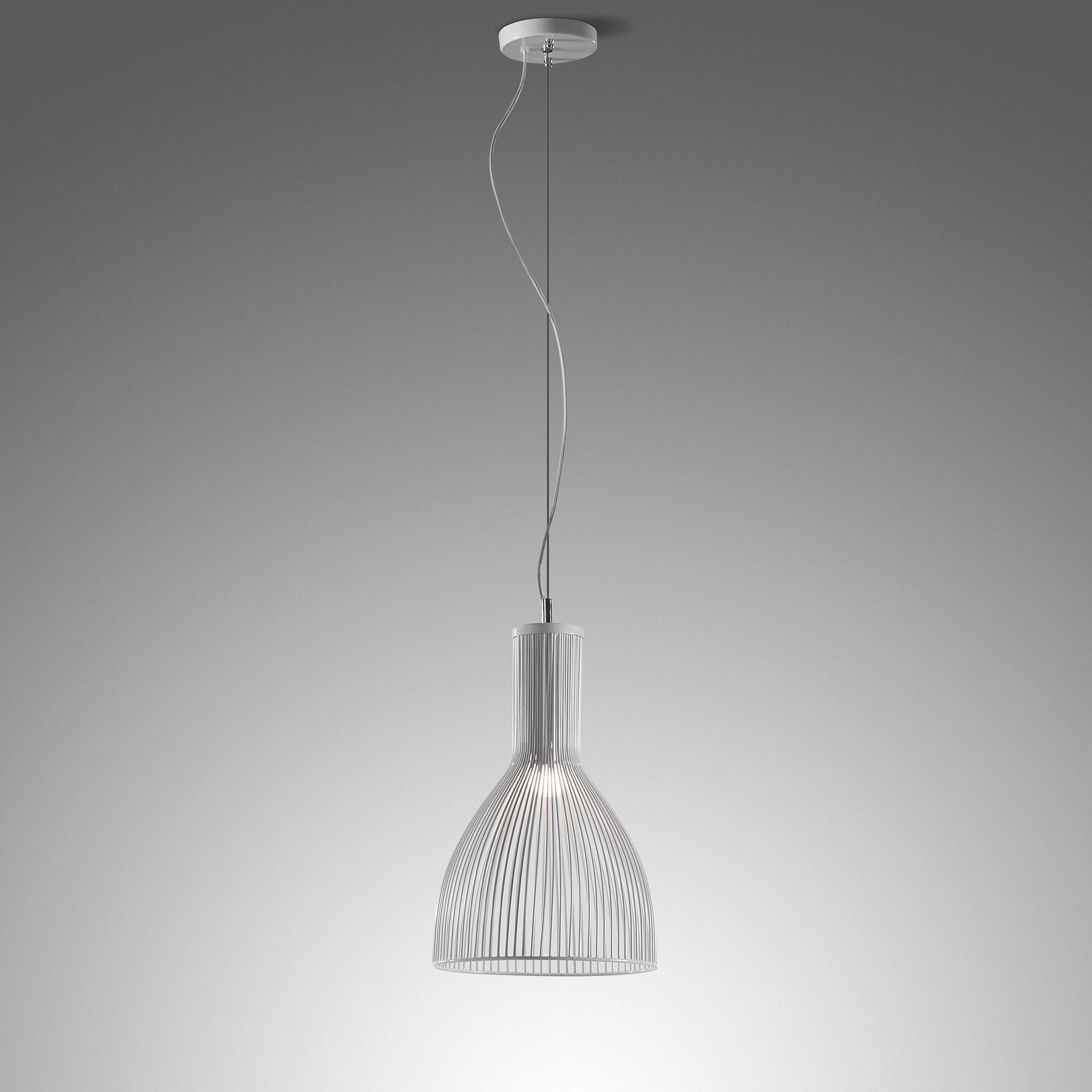 Kave Home Hanglamp 'Elch B' wit