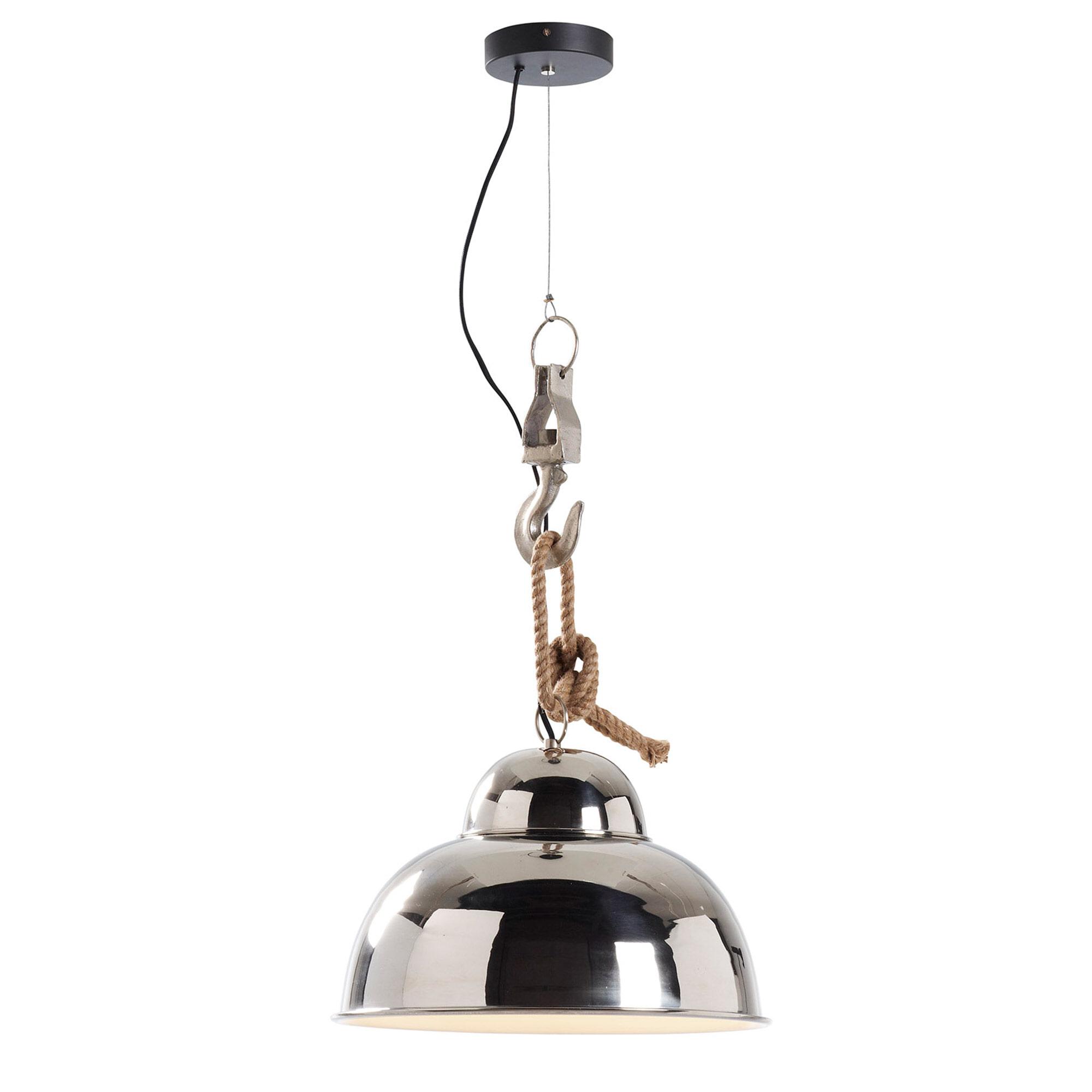 Kave Home Hanglamp 'Gianna', kleur zilver