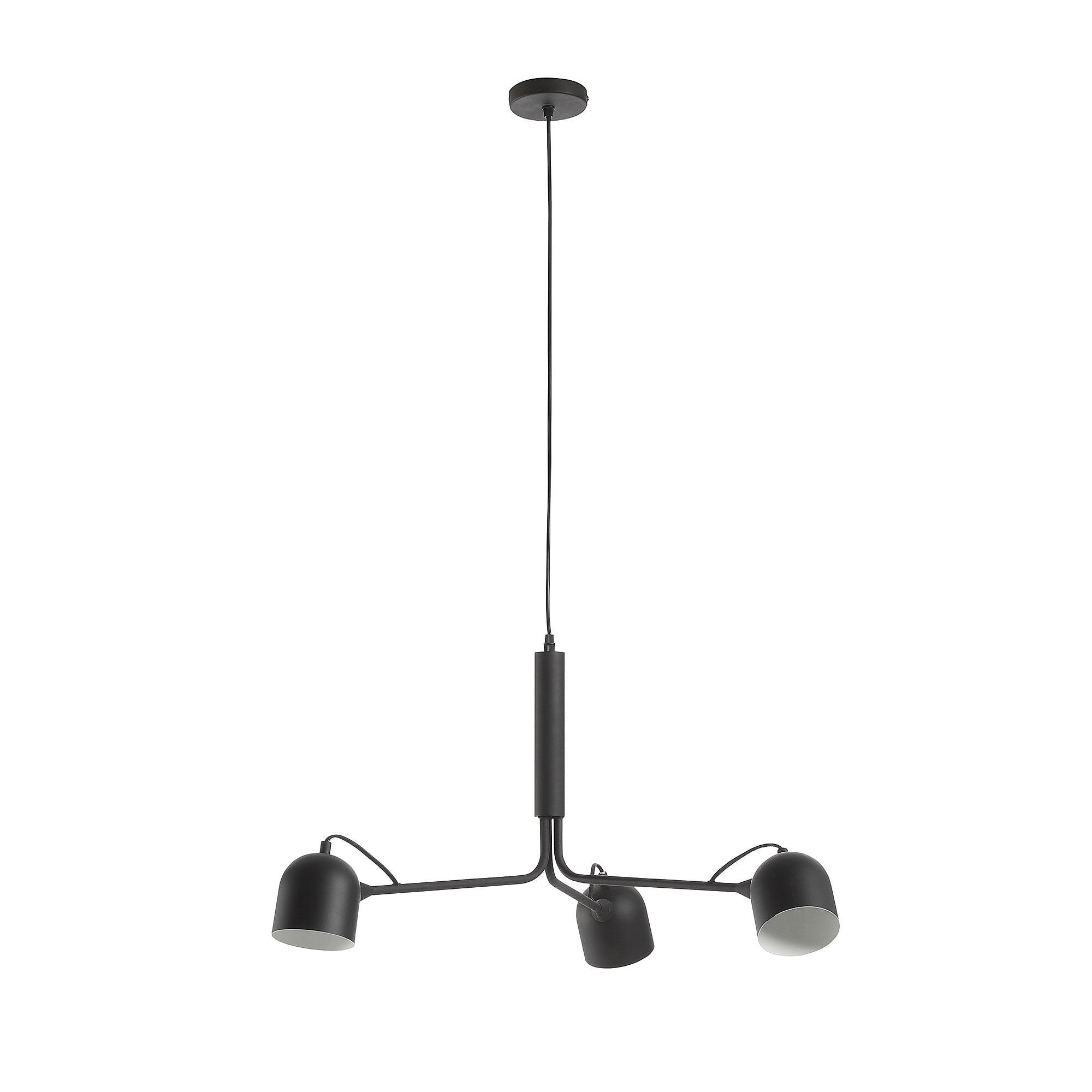 Kave Home Hanglamp 'Lucilla', kleur Zwart Verlichting   Hanglampen vergelijken doe je het voordeligst hier bij Meubelpartner