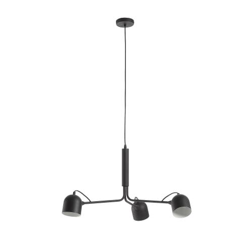 Kave Home Hanglamp 'Lucilla', kleur Zwart