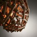 Kave Home Hanglamp 'Nakito' 35cm, kleur Naturel