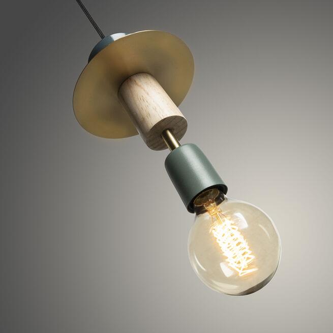 Kave Home Hanglamp 'Naroa', kleur groen
