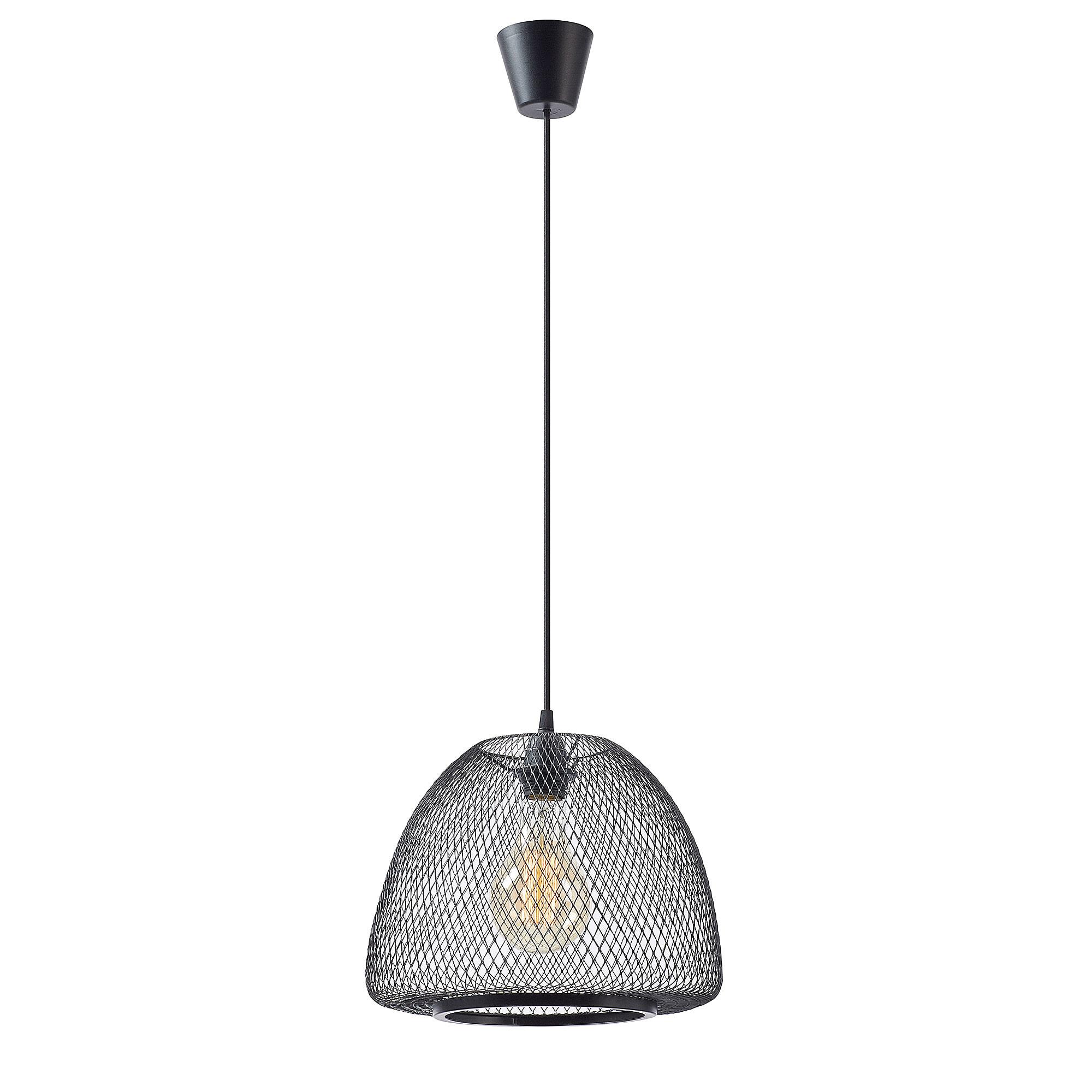 Kave Home Hanglamp 'Wala' 32cm, kleur Zwart Verlichting   Hanglampen vergelijken doe je het voordeligst hier bij Meubelpartner