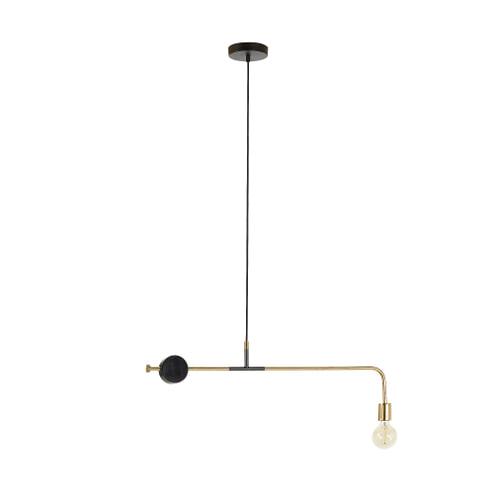 Kave Home Hanglamp 'Wick', kleur Goud