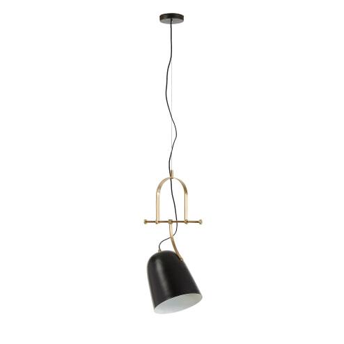 Kave Home Hanglamp 'Zico', kleur Zwart