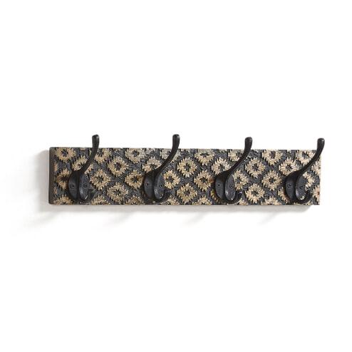 Kave Home Kapstok 'Practick' 50cm, kleur Zwart