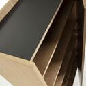 Kave Home Opbergkast 'Shil', kleur Zwart