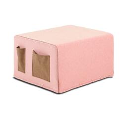 Kave Home Poef / vouwbed 'Verdi', kleur Roze